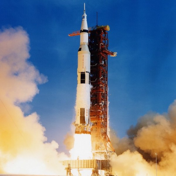 Apollo 11 Launch.Photo credit visualhunt.NASA's Marshall Space Flight Center