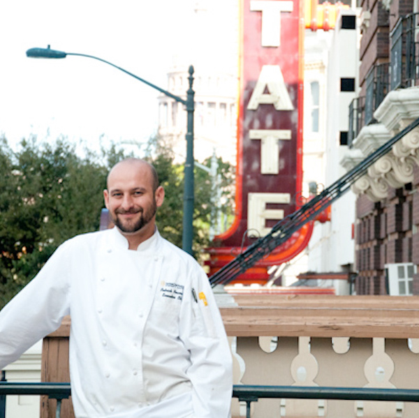 Chef Patrick Newman of Intercontinental Hotel - Austin, TX