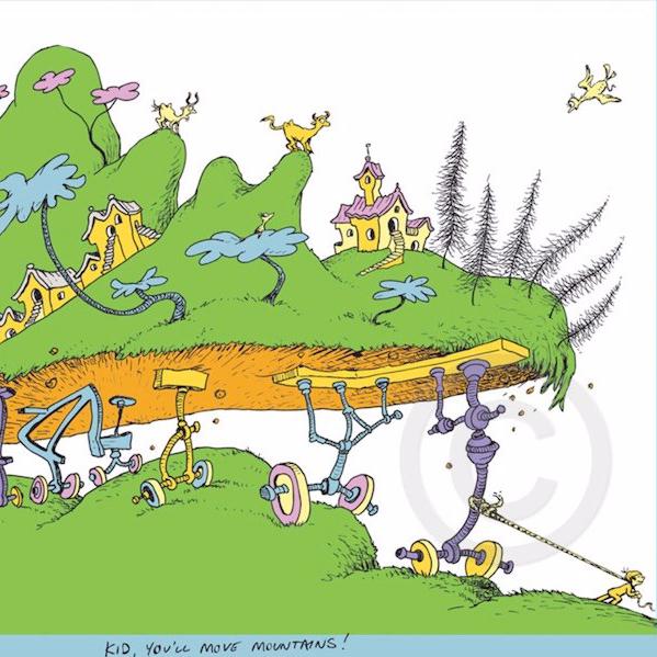 Dr. Seuss Place You'll Go