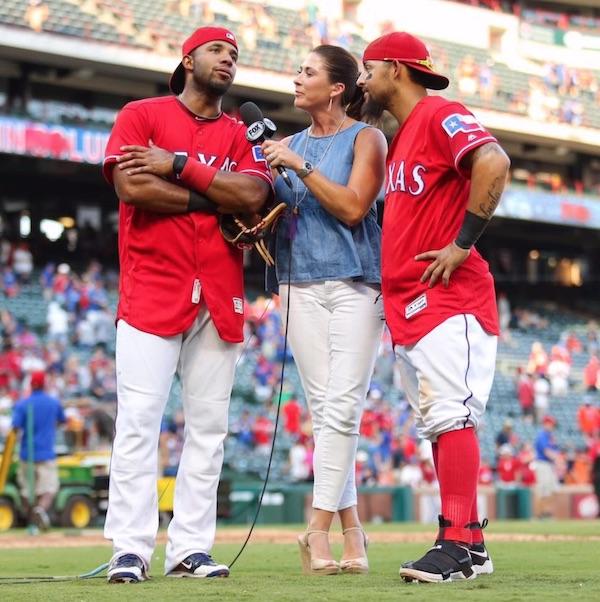 Emily Jones Texas Rangers