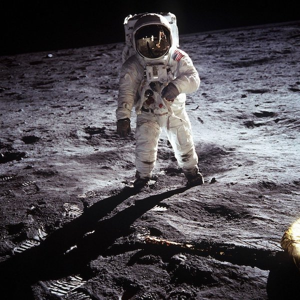 Photo courtesy VisualHunt.moon-landing-apollo-11-nasa-buzz-aldrin-1969
