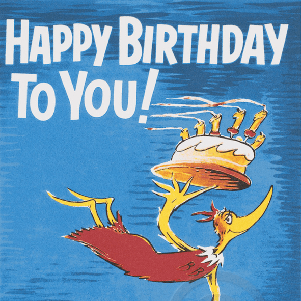 Dr. Seuss Happy Birthday to You