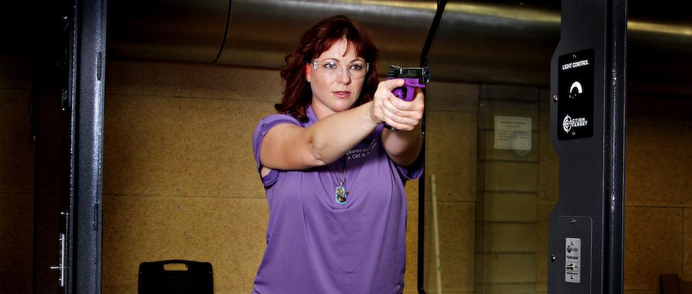 Cover. Julianna Crowder A Girl and A Gun