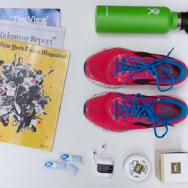 Crista Bailey essentials travel items