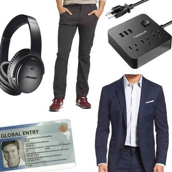 David's Travel Essentials - Square