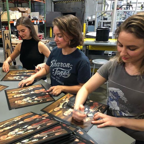 Quebe Sisters.Album Signing