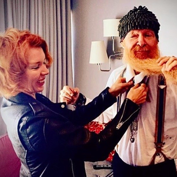 Sue Foley and Billy Gibbons